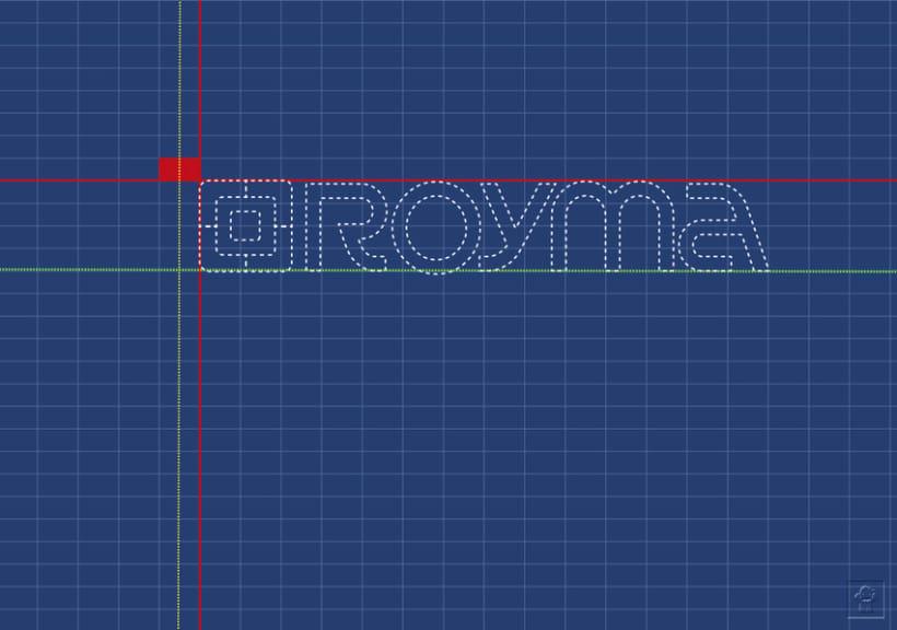 """Identidad corporativa """"ROYMA informática"""" 3"""