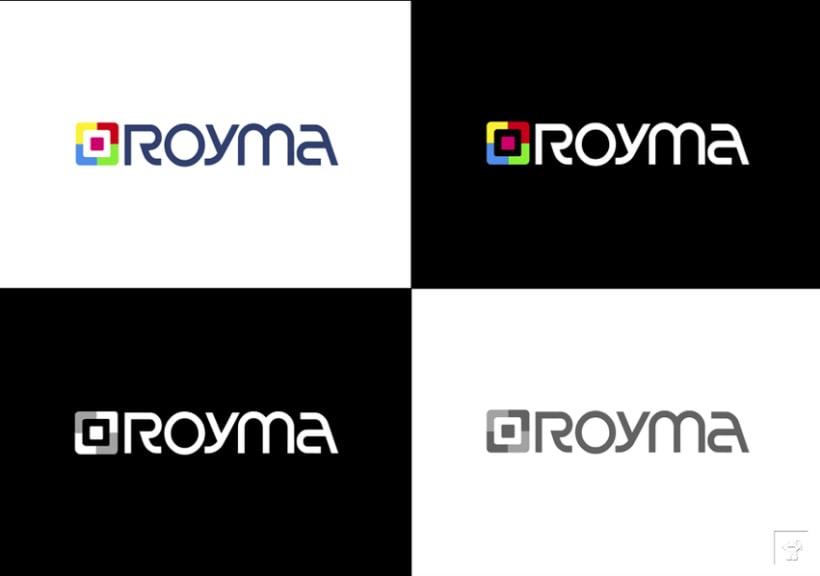 """Identidad corporativa """"ROYMA informática"""" 6"""
