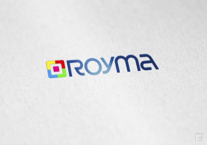 """Identidad corporativa """"ROYMA informática"""" 7"""