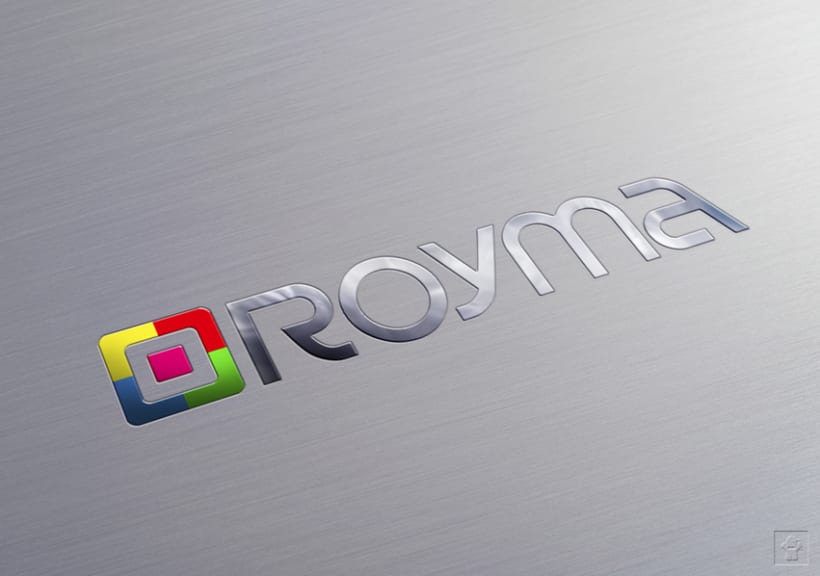 """Identidad corporativa """"ROYMA informática"""" 10"""