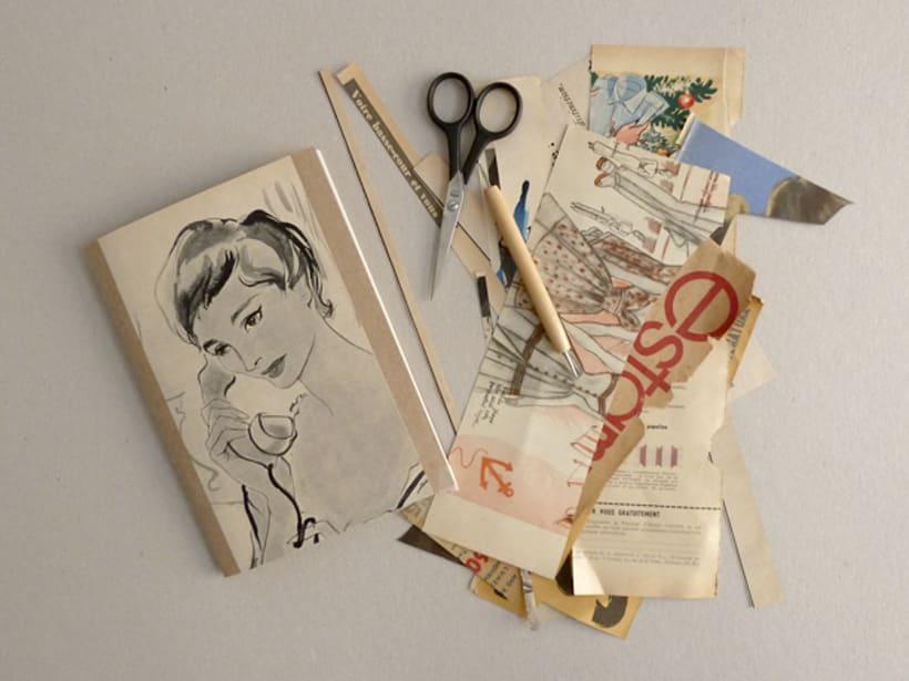 Vintage style notebooks 0