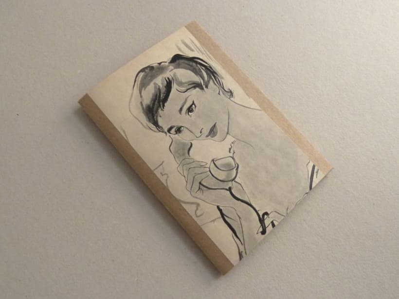 Vintage style notebooks 4