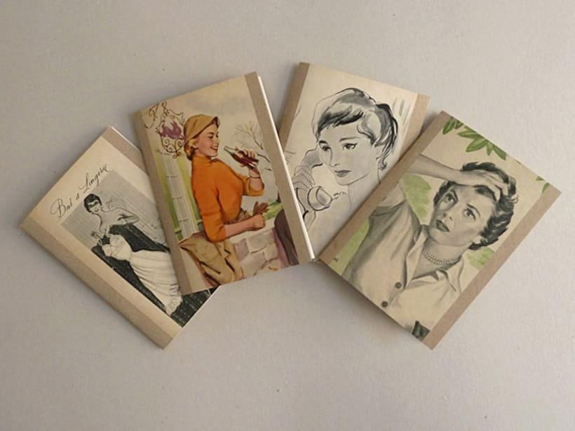 Vintage style notebooks 7