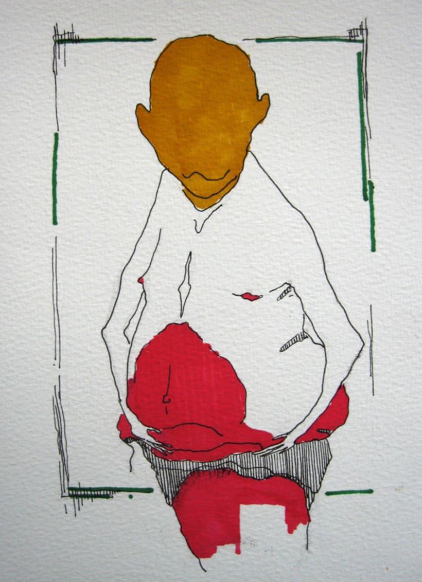 Placer de Baño, Originales: Tintas 2