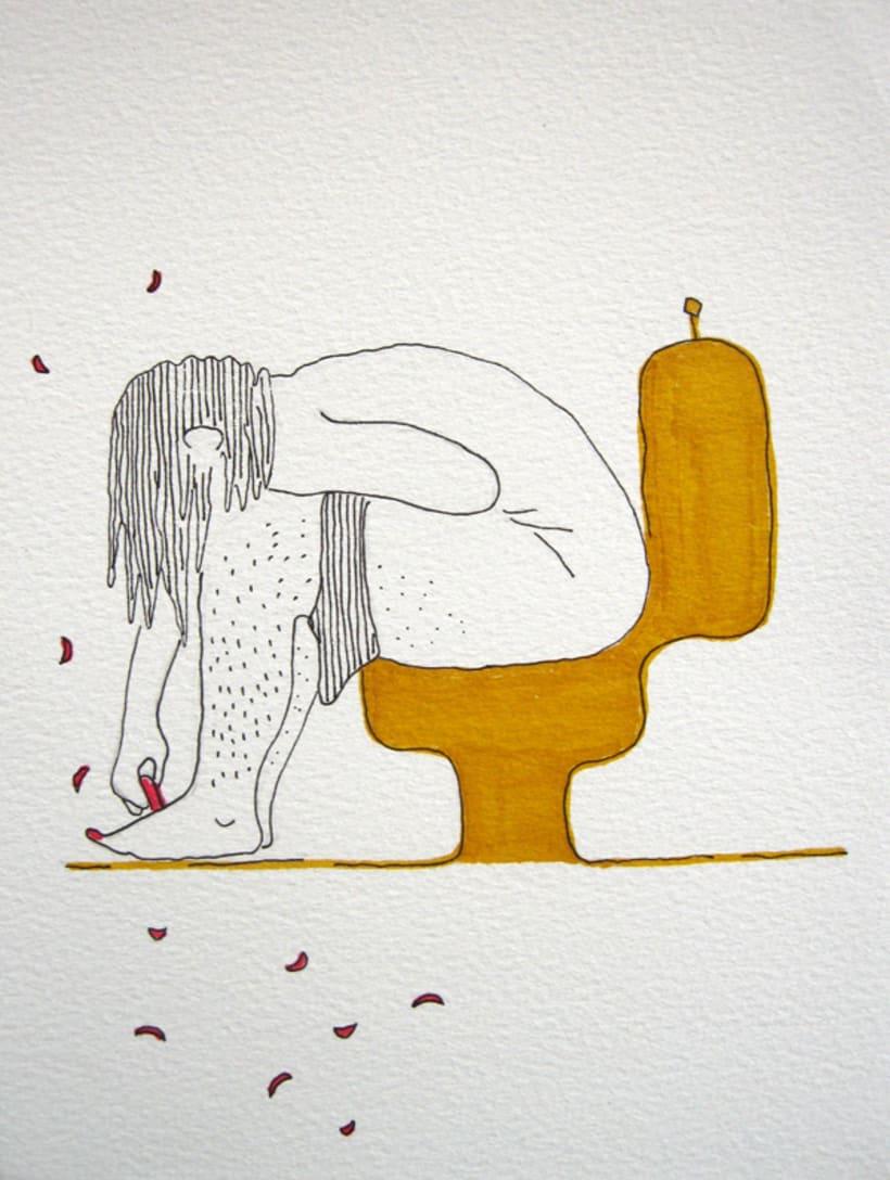 Placer de Baño, Originales: Tintas 7