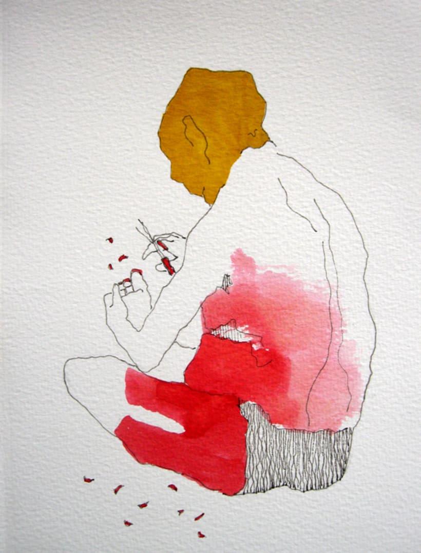 Placer de Baño, Originales: Tintas 8