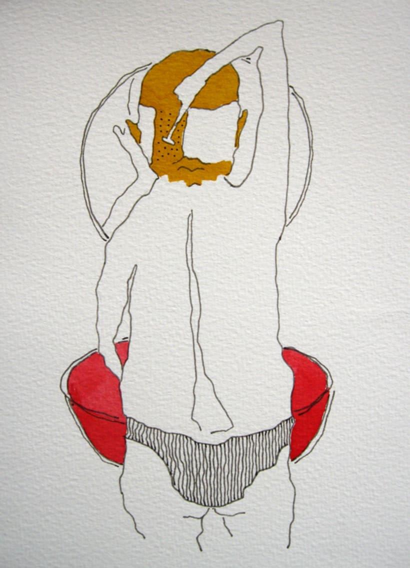 Placer de Baño, Originales: Tintas 9