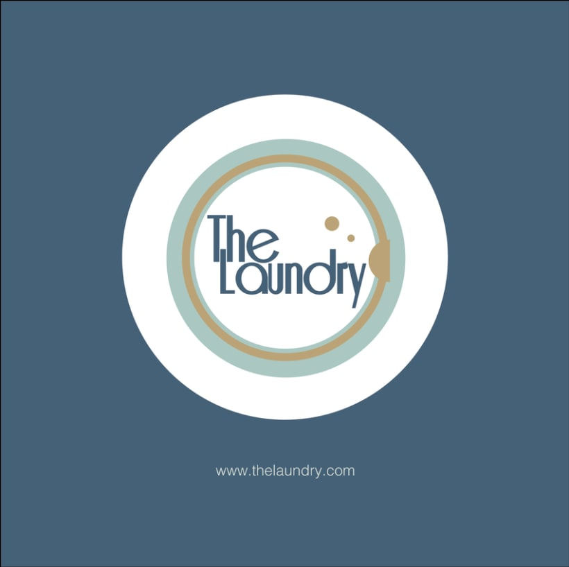"Manual Identidad Corporativa ""The Laundry"" - Gráficas - Exterior - Web  0"