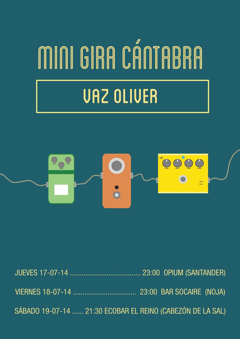 Cartel Gira Vaz Oliver 0