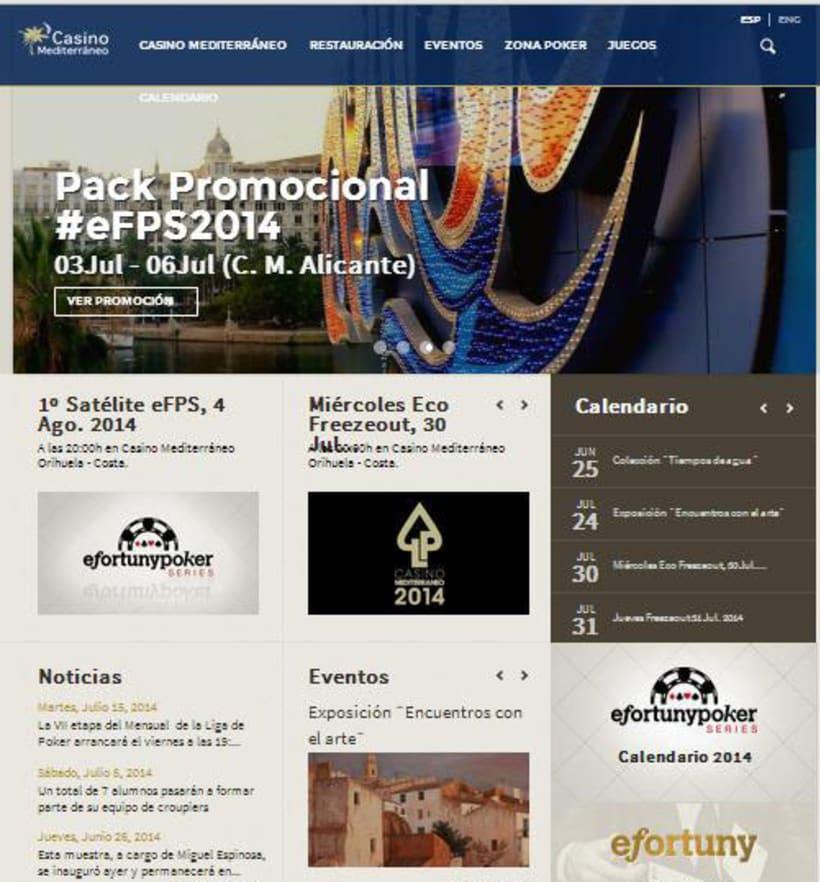 Planificación de la estructura y los contenidos de la nueva página web de Casino Mediterráneo -1