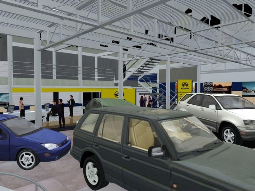 2007/// Anteproyecto Concesionario GWM 5