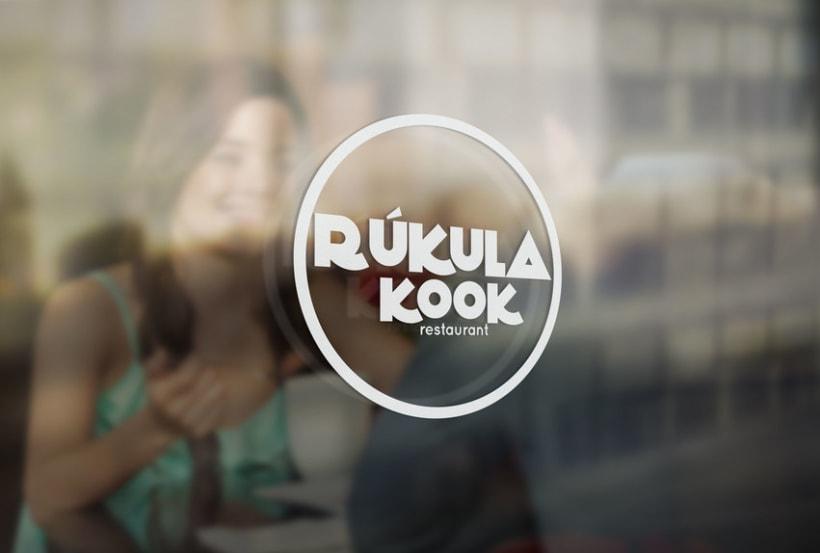 Identidad Corporativa y Menú para Restaurante Rúkula Kook 7