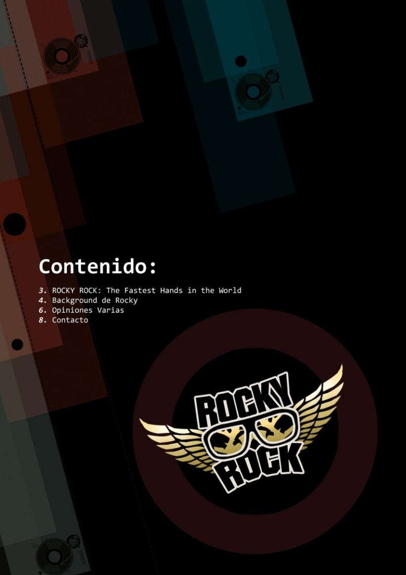 Dj Rocky Rock - Dossier 2013 0