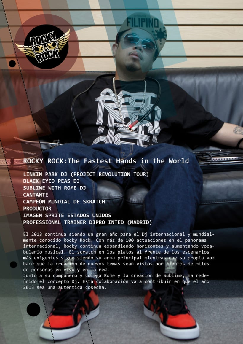 Dj Rocky Rock - Dossier 2013 1