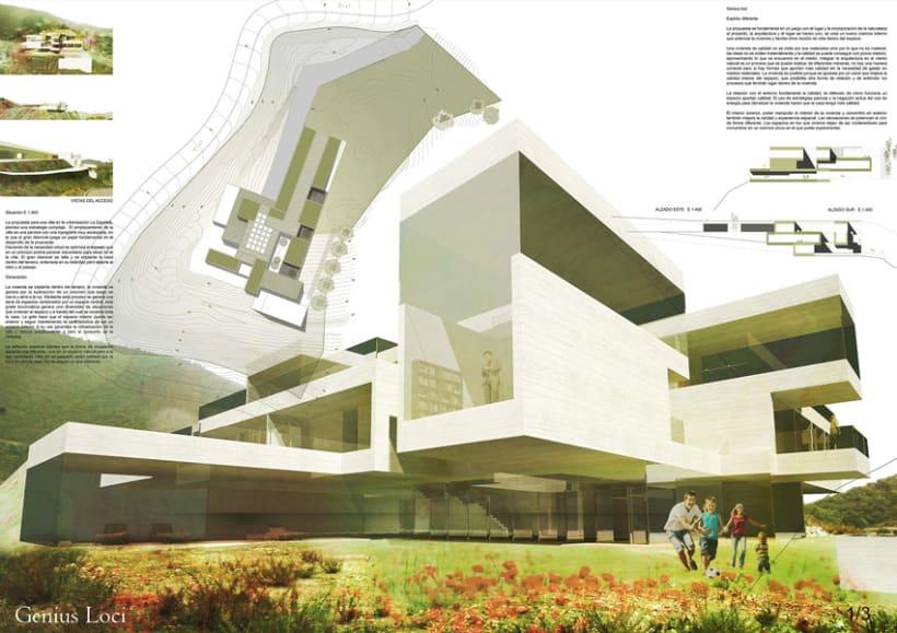 Concurso de Arquitectura_DOM3Prize_Villa de lujo. 0