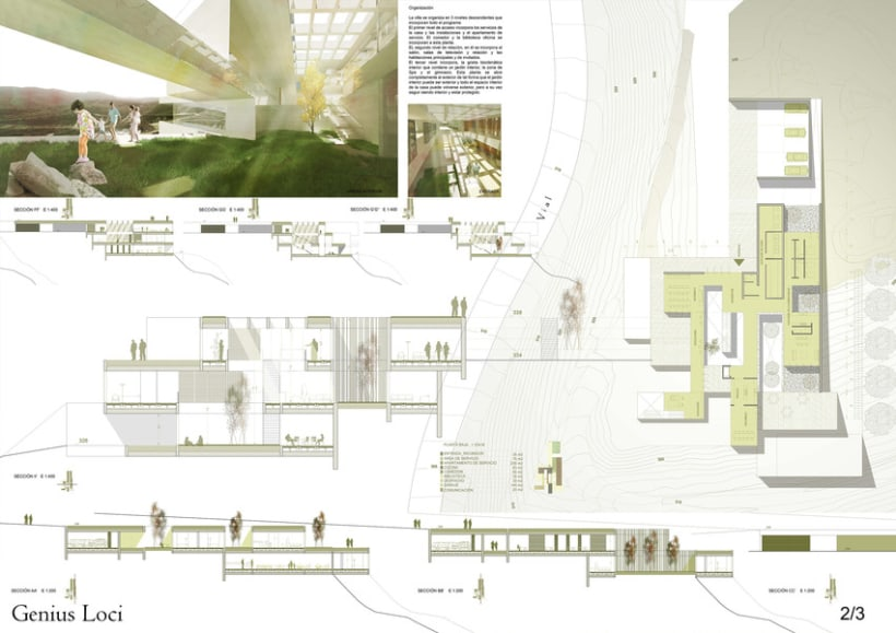 Concurso de Arquitectura_DOM3Prize_Villa de lujo. 1