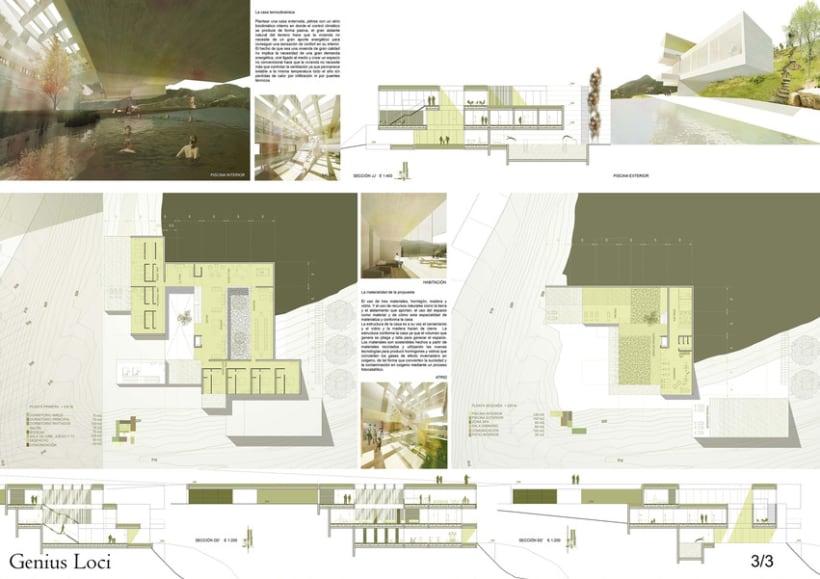 Concurso de Arquitectura_DOM3Prize_Villa de lujo. 2