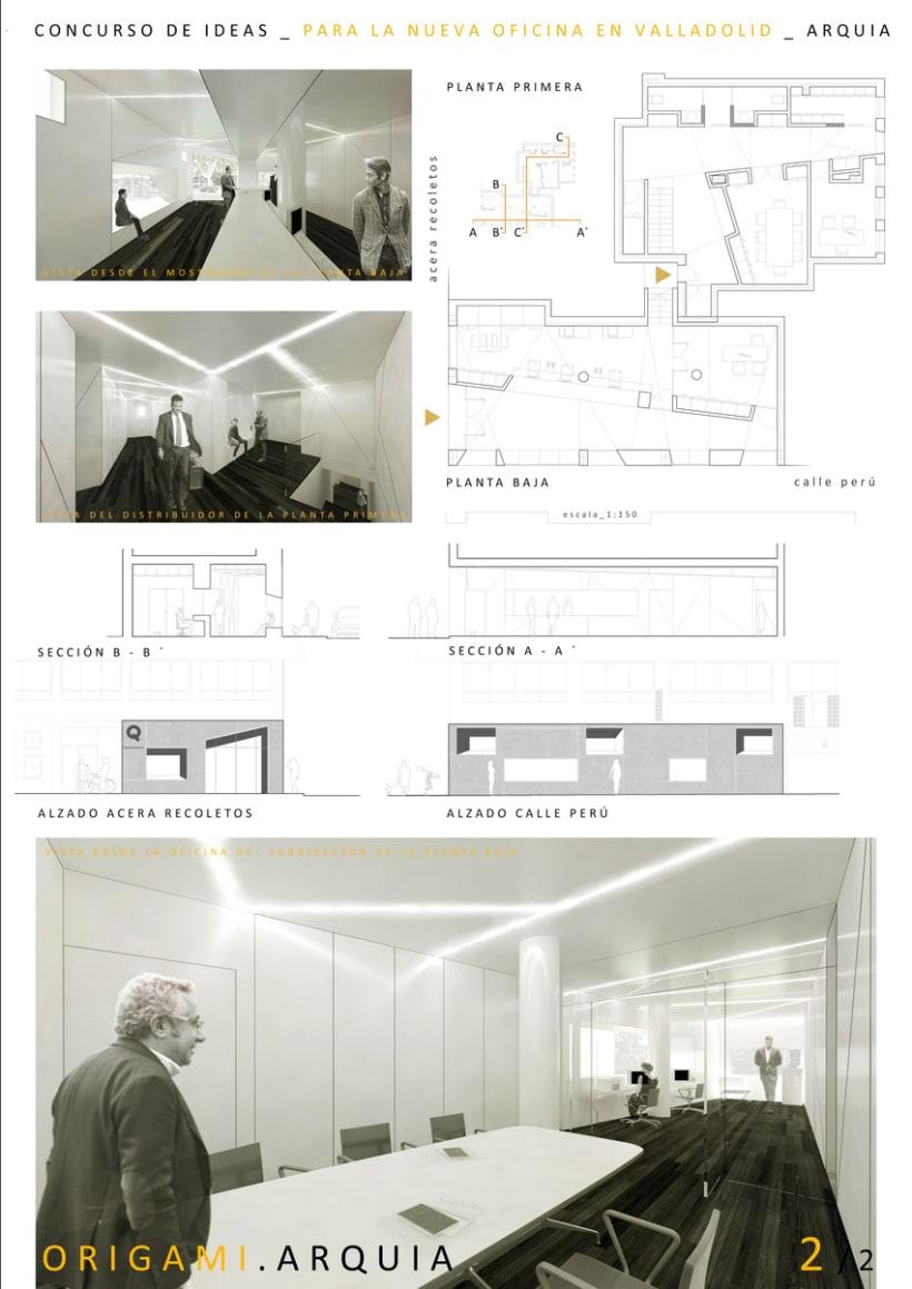 Concurso arquitectura oficina de arquia en valladolid for Oficina empleo valladolid