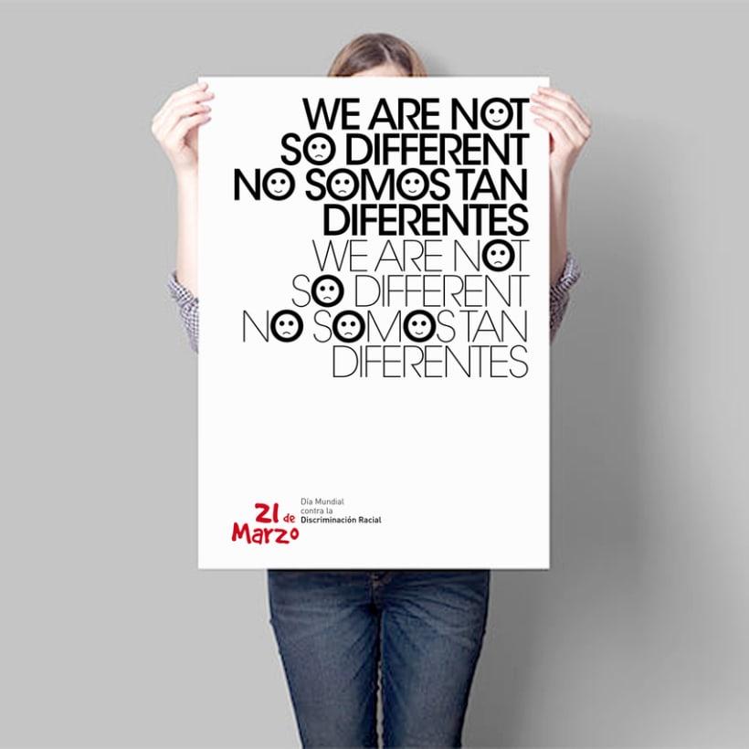 Día Mundial contra la Discriminación Racial -1