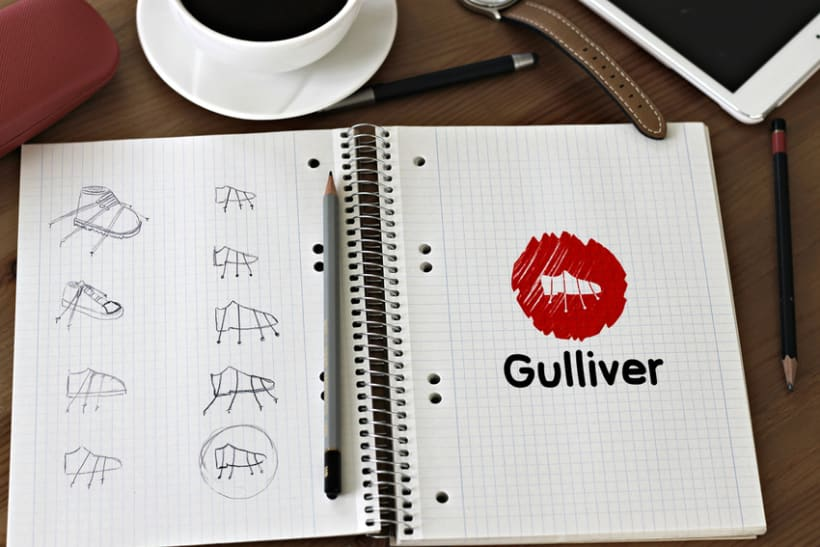 Imagen corporativa - Gulliver 1
