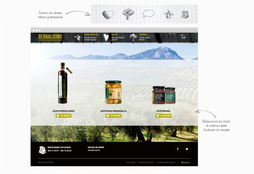 Web / Tienda online - Bernalissimo 0