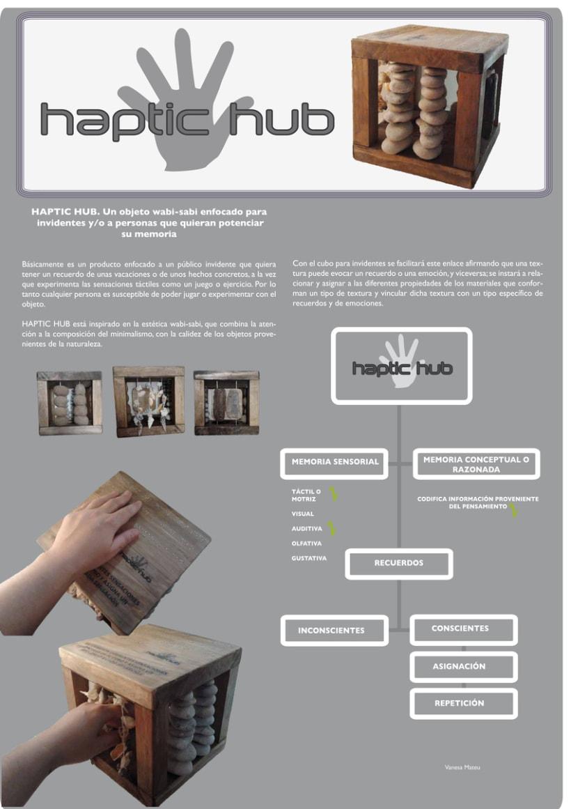 HapticHub para invidentes 0
