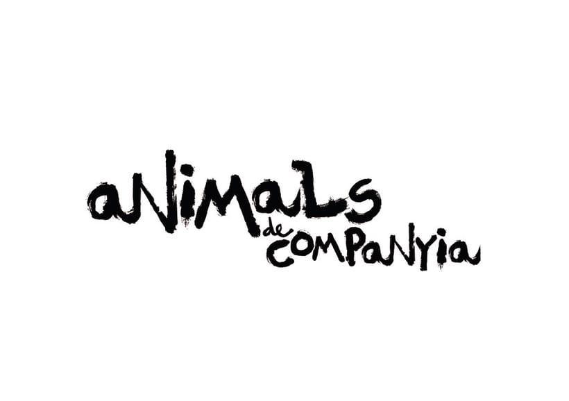 ANIMALS DE COMPANYIA, gràfica per a una sèrie de televisió 0