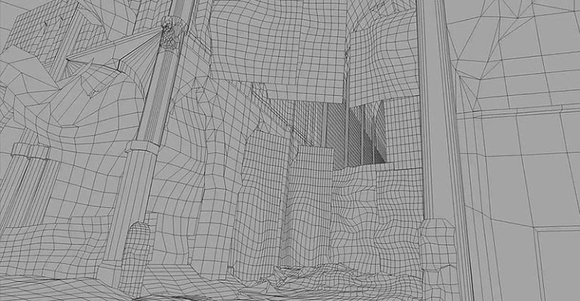 MattePainting (Animación 3D) 1