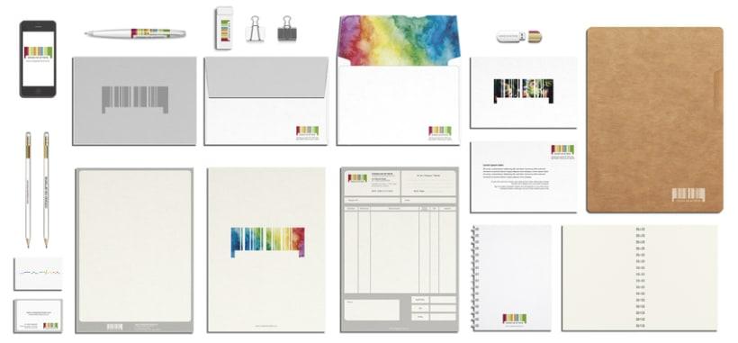 CÓDIGO DE ARTISTA, corporate stationery ( part II ) 1