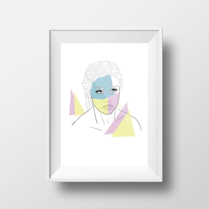 Ilustración. Khaleesi. 1