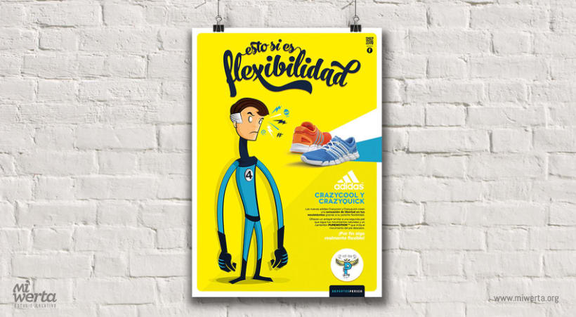 DEPORTES PERICO · Gráfica publicitaria 1