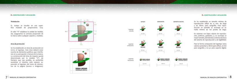 Manual Corporativo Borja Unsain Diseñador 1