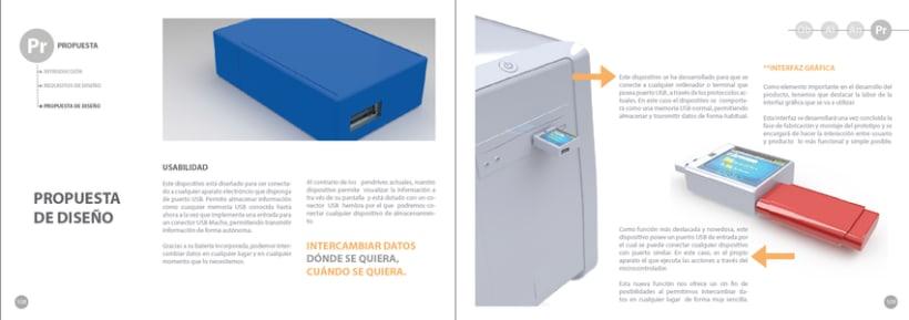 """Dispositivo de Almacenamiento y Traspaso de datos """"D-TRANSFER"""" -1"""