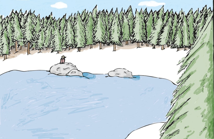 Ilustración - Caminos cruzados 2