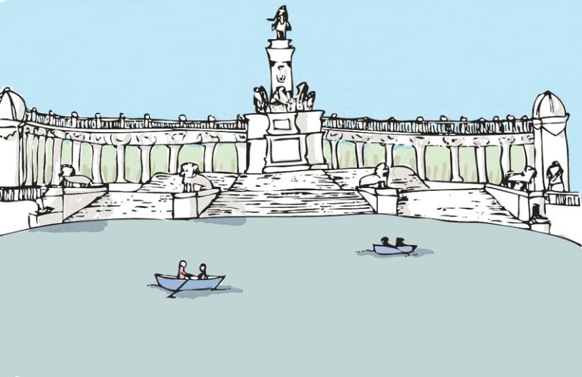 Ilustración - Caminos cruzados 4
