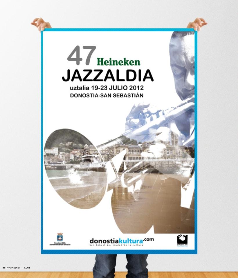 Cartelería HEINEKEN JAZZALDIA  3
