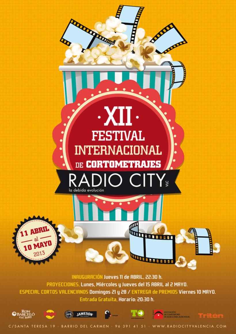 CARTEL FESTIVAL DE CORTOS RADIO CITY -1