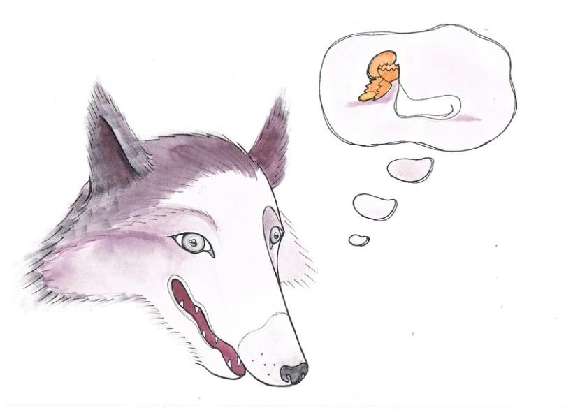 Las siete cabritas y el lobo 1