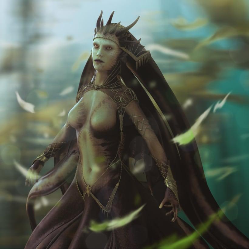 Squid Empress 0