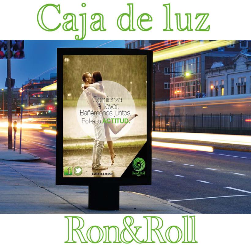 Campaña Rock&Roll (mojito) Caja de luz 0