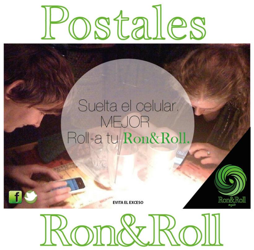 Campaña Rock&Roll (mojito) Postales 0