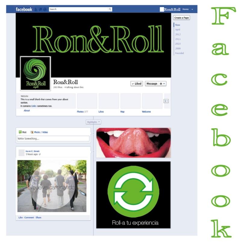 Campaña Ron&Roll (mojito) Facebook 0
