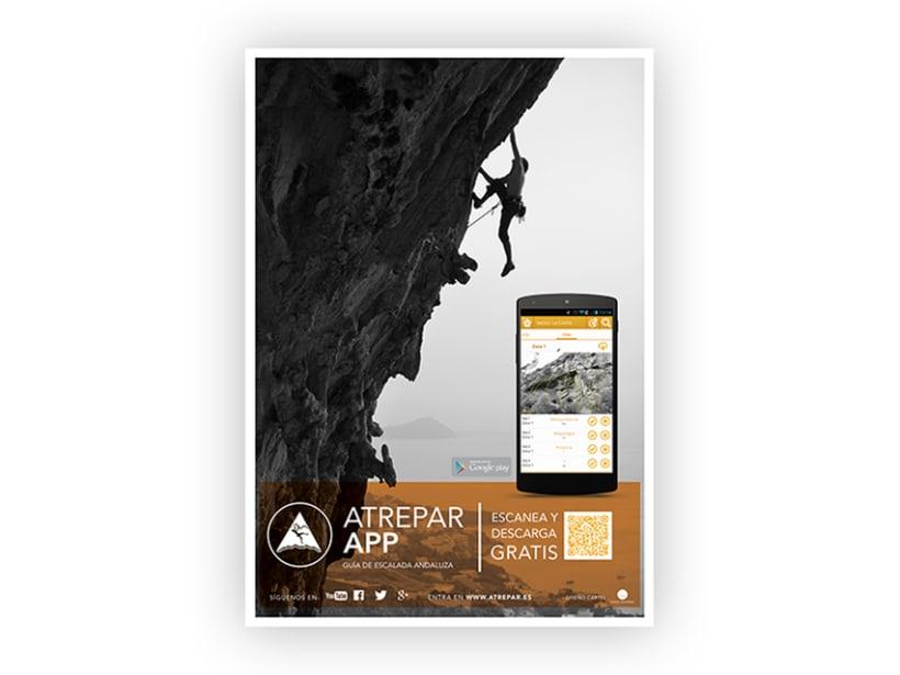 Poster 'Atrepar App' 0