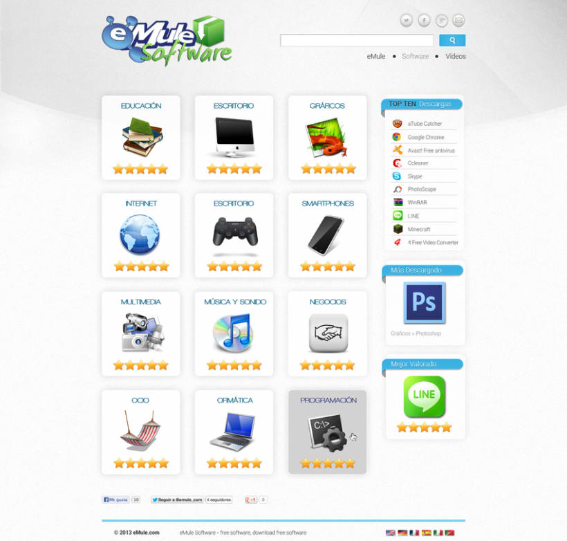 eMule WebSites Design 0