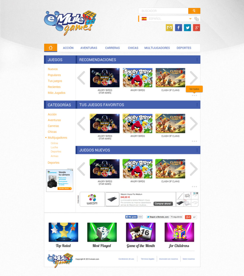 eMule WebSites Design 2