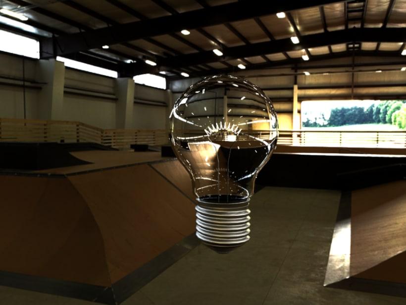 Light Bulb Vray -1