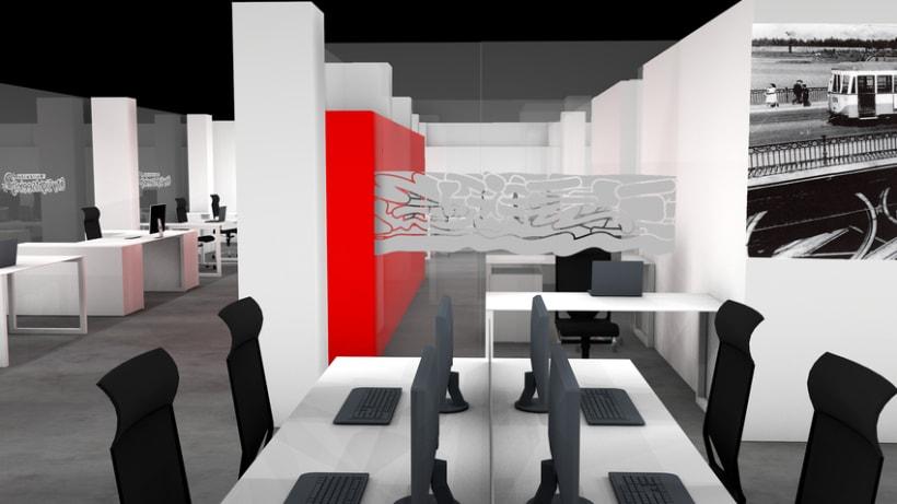 Infografía 3D Oficina 4
