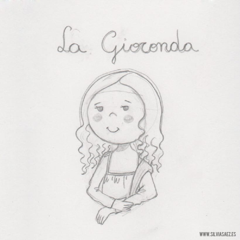 Imagen para La Gioconda (ropa infantil) 0