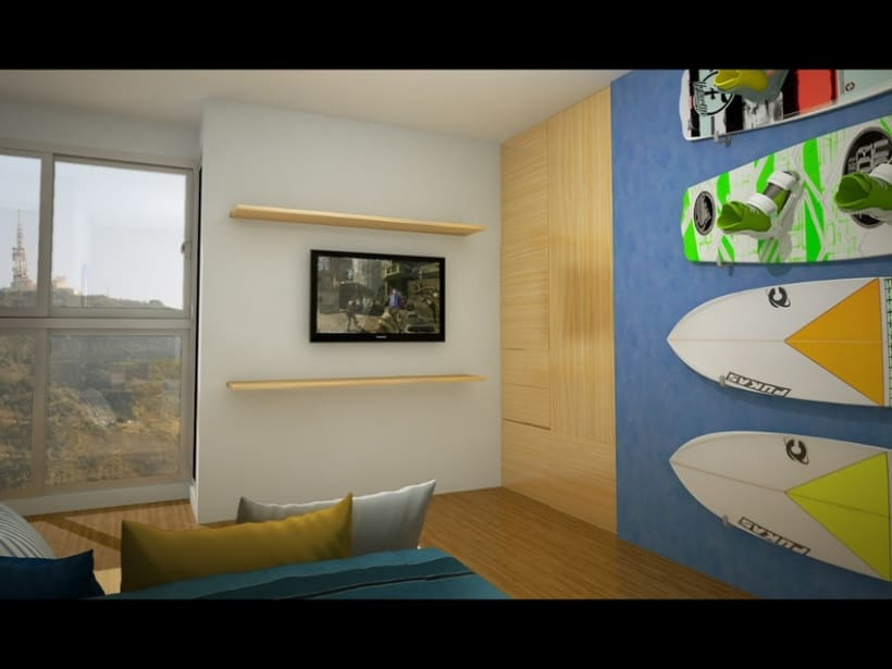 Wakeboarder room -1