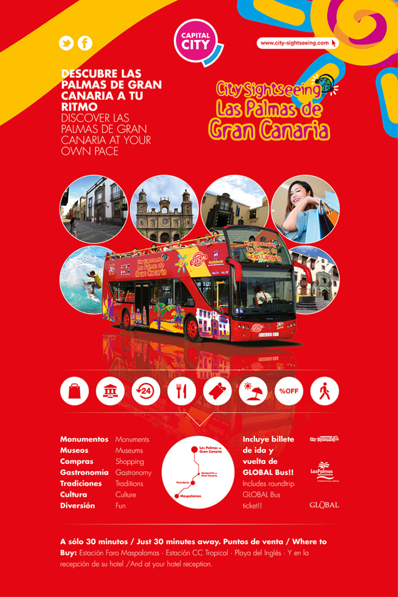 Mupi lpavisit / City Sightseeing 0